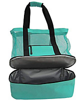 cheap -Unisex Zipper PVC(PolyVinyl Chloride) Top Handle Bag Solid Color Blushing Pink / Green / Blue