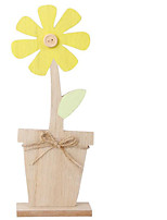cheap -Happy Easter bunny egg sunflower Holiday Decorations object 1pc
