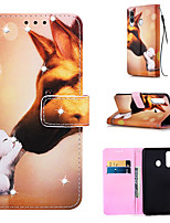 cheap -Case For Samsung Galaxy S9 / S9 Plus / S8 Plus Wallet / Card Holder / Rhinestone Full Body Cases Dog PU Leather for Galaxy S20 PLUS S20 ULTRA S20 A51 A71 A50 A40 A30 A20 A10S NOTE10 J4 PLUS