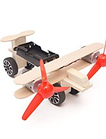 cheap -Electric Glider Science & Exploration Set Educational Toy Airplane Wooden DIY Hand-made Wooden Teenager All Toy Gift 1 pcs