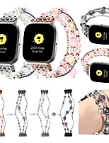 cheap -Wristband Replacement Deluxe Agate Strap For Fitbit Versa 2 Smart Watch Strap Smart Watch Band Sports Watches Band Wristband