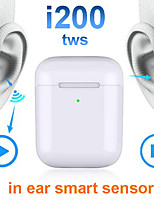 cheap -Automatic Ear Detection i200 TWS Bluetooth 5.0 Headsets Smart Sensor Wireless Charging Earphone Pop Up Wireless Charge