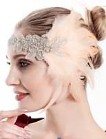 cheap -Dance Accessories Vintage / 1920s Women's Feather / Fur Feather / Crystals