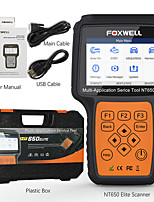 cheap -FOXWELL NT650 Elite OBD2 Automotive Scanner ABS SRS SAS DPF Oil Reset Code Reader Professional Car Diagnostic Tool OBD2 Scanner