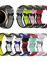 cheap -Breathable Silicone Sport Strap For Garmin vivoactiv3/Forerunner245 /645/vivomove/vivomove HR/Venu