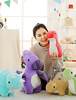 Недорогие -30cm Динозавр Плюшевая кукла Плюшевая игрушка Мягкие и плюшевые игрушки Очаровательный обожаемый Милый Мультяшная тематика Полиэстер / хлопок Все Идеальный подарок для малышей и малышей / Детские