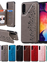 cheap -Case For Samsung Galaxy S9 / S9 Plus / S8 Plus Card Holder / Shockproof / with Stand Back Cover Animal / Cartoon PU Leather for Galaxy S10 5G S10 S10 E S10 PLUS NOTE10 NOTE10 PLUS NOTE9 NOTE8