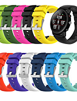 cheap -Watch Band for Huawei Watch GT / Huawei Watch GT2 46mm Huawei Classic Buckle Silicone Wrist Strap