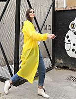 cheap -Men's Women's Hiking Raincoat Outdoor Waterproof Windproof Raincoat White / Yellow / Blue / Grey