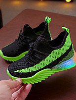 cheap -Boys' / Girls' LED Shoes Flyknit Athletic Shoes Toddler(9m-4ys) / Little Kids(4-7ys) Yellow / Red / Green Spring / Summer / Color Block