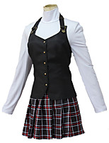 cheap -Inspired by Persona Series Cosplay Anime Cosplay Costumes Japanese Cosplay Suits Vest Skirt T-shirt For Women's