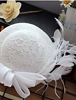cheap -Lace Hats with Lace 1 Piece Party / Evening Headpiece