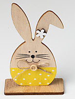cheap -Ornaments Wood 1 Piece Easter