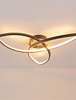 cheap -1-Light feimiao 74 cm Circle Design Flush Mount Lights Aluminum Silica gel Painted Finishes LED / Modern 110-120V / 220-240V