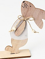 cheap -bunny Easter Decorative Objects, Plastic Modern Contemporary for Home Decoration Gifts 1pc