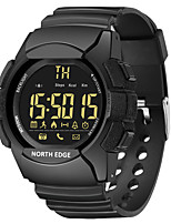 cheap -NORTH EDGE Men's LED Digital Watch Sport Waterproof Wrist Smart Watches 33-months Standby Time Bluetooth Watch For IOS Android