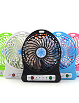 cheap -Portable Mini Fan 3 Speed Adjustable Fans For Home OfficeDesk Travel With LED Light USB Rechargeable Fan Handheld