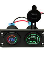 Недорогие -Iztoss Автомобиль Автомобильное зарядное устройство 2 USB порта для 5 V