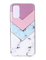 cheap -Case For Samsung Galaxy Samsung Galaxy A70(2019) / Galaxy A20e / Galaxy Note 10 Ultra-thin / Pattern Back Cover Marble TPU