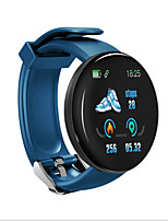 cheap -D18 Unisex Smart Wristbands Android iOS Bluetooth Touch Screen Heart Rate Monitor Blood Pressure Measurement Sports Information ECG+PPG Pedometer Activity Tracker Sleep Tracker Barometer