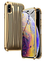 cheap -Case For Apple iPhone XS Max Shockproof Full Body Cases Solid Colored Metal
