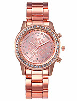 cheap -Women's Quartz Watches Fashion White Silver Rose Gold Alloy Chinese Quartz Rose Gold Gold Silver Casual Watch 1 pc Analog One Year Battery Life