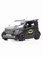 cheap -1:36 Toy Car Mini Vehicles Car Classic Car Office Desk Toys Adorable Exquisite Bat Zinc Alloy Rubber Boys' Girls' / Kids