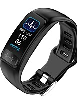 cheap -P12 Men Women Smart Bracelet Smartwatch Android iOS Bluetooth Sports Calories Burned Smart ECGPPG Pedometer Call Reminder Sleep Tracker Sedentary Reminder