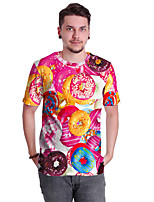 cheap -Inspired by Galaxy T-shirt Terylene Food For Men's / Women's