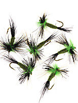 cheap -6 pcs Flies Flies Floating Bass Trout Pike Fly Fishing Freshwater Fishing Bass Fishing Metal