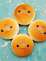 cheap -1 Squishy Toy Slow Rising Stress Reliever Hamburger Stress and Anxiety Relief Lovely Decompression Toys Resin 2 pcs Adults' All Toy Gift