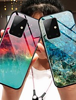 cheap -Colorful Tempered Glass Phone Case for Samsung Galaxy A51 A71 A81 S20 S20 Plus S20 Ultra S10 S10E S10 Plus S9 S9 Plus Note 10 Note 10 Plus A10 A20 A30 A40 A50 A70 A20E