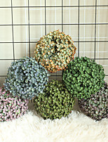 cheap -1pcs Grass Ball Simulation Flower Home Decoration Wall Plant Wall