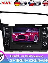cheap -ZWNAV 7inch 2din 4GB 64GB 2.5D Android 9.0 Car MP5 Player Car GPS navigation Car multimedia player auto radio tape recorder stereo For Volkswagen Golf 7 2013