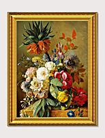 Недорогие -оформлен в художественном стиле американский стиль ресторан винный шкаф декоративная роспись атмосфера цветы европейская живопись реалистичная ваза висящая живопись