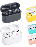 cheap -LITBest Macaron AirPro 3 TWS True Wireless Earbuds Rename GPS Find My Devices (iOS) Voice Control Hey Siri 1 to 1 Replica Automatic Ear Detection with Qi Wireless Charging Box Bluetooth 5.0