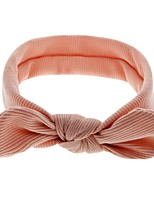 cheap -Kids / Toddler / Newborn Unisex / Girls' Active / Basic Solid Colored Nylon Hair Accessories Brown / Beige One-Size