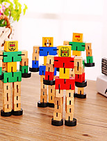 cheap -Wooden Robots Vehicles New Design Adorable Wooden Wooden Teenager All Toy Gift 1 pcs