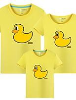 cheap -Family Look Animal Tee Yellow