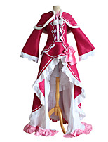 cheap -Inspired by Re:Zero Starting Life in Another World kara hajimeru isekai seikatsu Beatrice Anime Cosplay Costumes Japanese Cosplay Suits Top Dress Shawl For Women's / Stockings / Tutus
