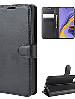 cheap -Case For Samsung Galaxy A5(2018) / Galaxy A7(2018) / A3(2017) Wallet / Card Holder / Shockproof Full Body Cases Solid Colored PU Leather
