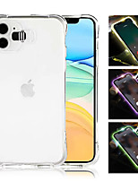 cheap -Call Light Case For iPhone 11 Pro XR XS MAX 6 6S 7 8 Shockproof Clear LED Flash TPU Case For iPhone 11 Pro