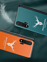 cheap -Case For Huawei Huawei Nova 4 / Huawei P20 / Huawei P20 Pro Frosted Back Cover Solid Colored / Cartoon PU Leather / TPU / PC