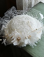 cheap -Net Hats with Faux Pearl 1 Piece Casual / Outdoor Headpiece