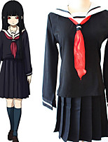 cheap -Inspired by Hell Girl Enma Ai Anime Cosplay Costumes Japanese Cosplay Suits Top Skirt For Men's Women's