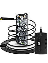 cheap -Wireless Endoscope Camera WiFi Borescope Inspection 5.5mm 6LED 2.0MP IP68 Waterproof Inspection Snake Camera for Android and iOS Tablet