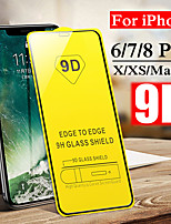 cheap -9D Hard Screen Protective Glass For iPhone 7 8 6 6S Plus XS Max X XR 11 Pro Max Toughed Front Film Tempered Glass