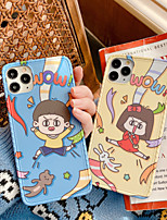 cheap -Cute Cartoon Pattern Printed Clear Design Phone Case for iPhone 11 Pro Max /iPhone X/XR/XS/ iPhone 7 Plus / iPhone 8 Plus  Hard PC Back   Bumper Scratch-Resistant Cover