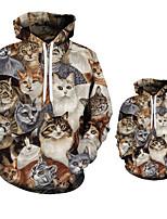 cheap -3D Print Men Hoodies Coats Spring Autumn Outerwear Kids Hooded Sweatshirt Clothes Children Long Sleeve Pullover Tops