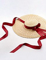 cheap -Straw Hats with Split Joint 1 Piece Sports & Outdoor Headpiece